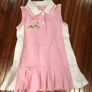 "Florence eiseman 2T golf dress ""tennis style"""